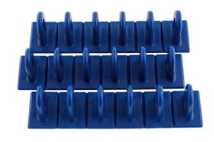 Power Tec 92347 Blue Multipads 6x36 Pack of 3